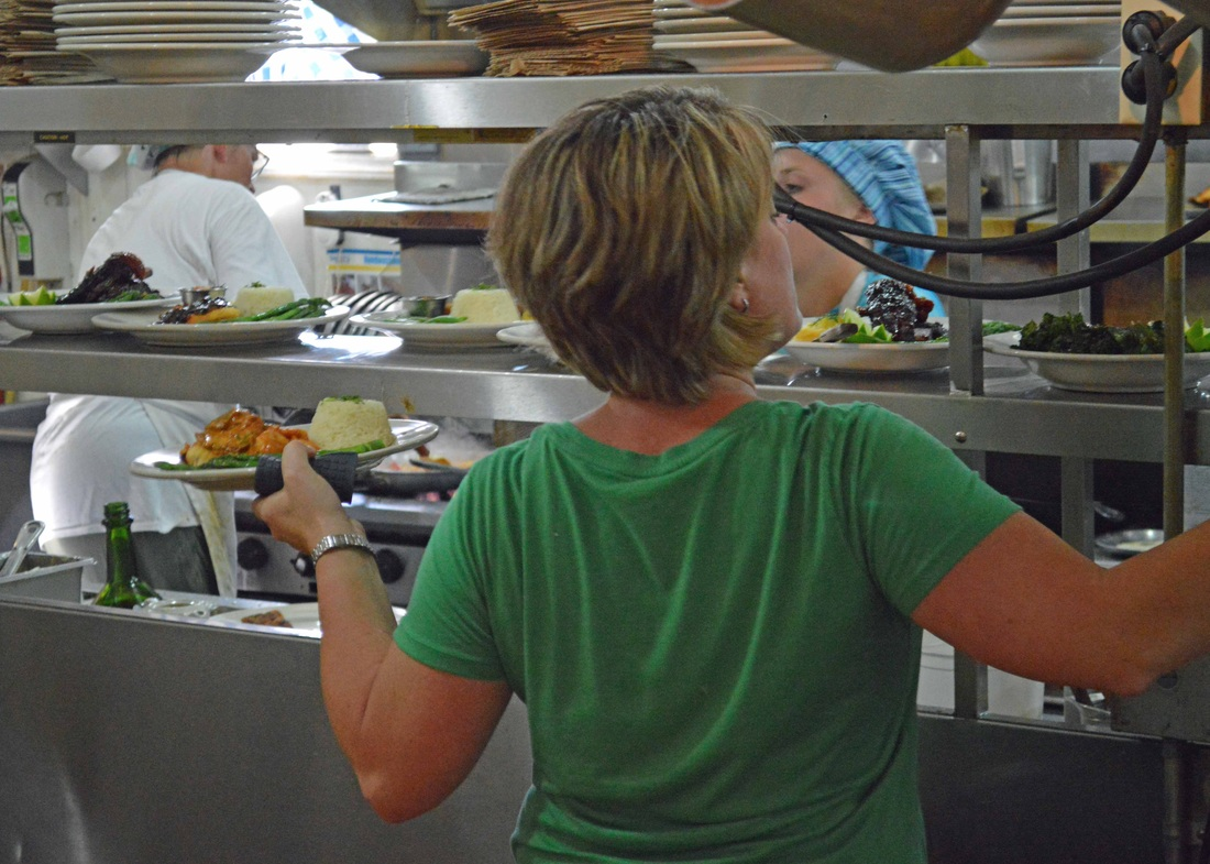 Harbor View Cafe Kitchen Staff
